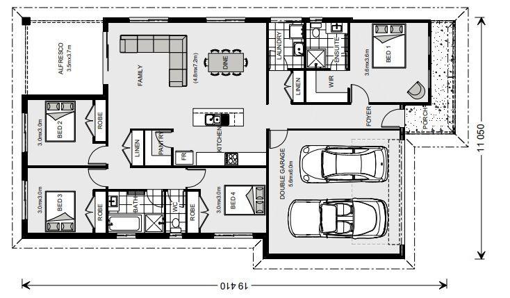 Nova 190 Floorplan
