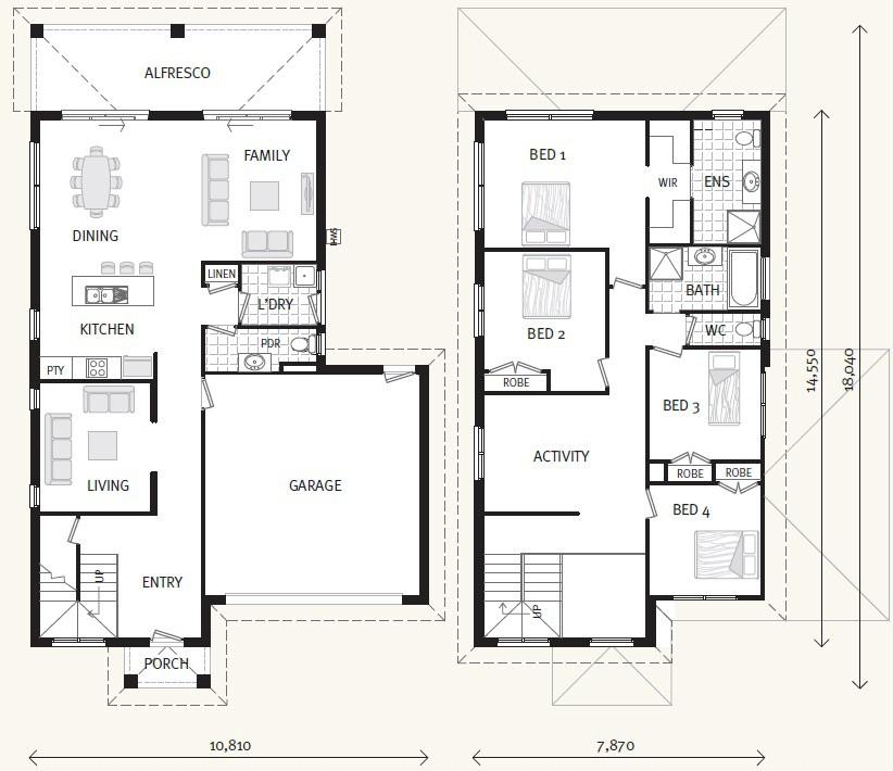 Lyra 264 - Element Series Floorplan