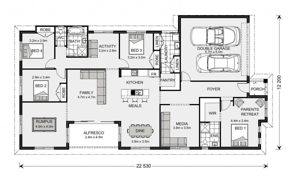 Springbrook 246 - Express Series Floorplan
