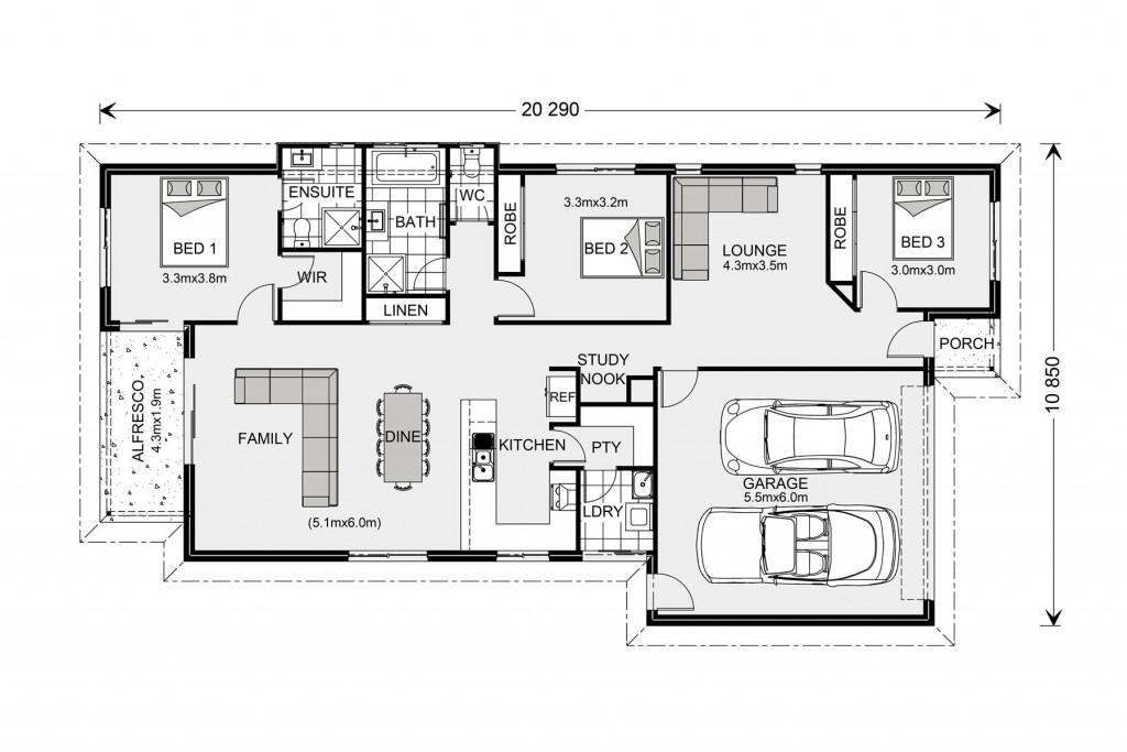 Westerfolds - Express Series Floorplan