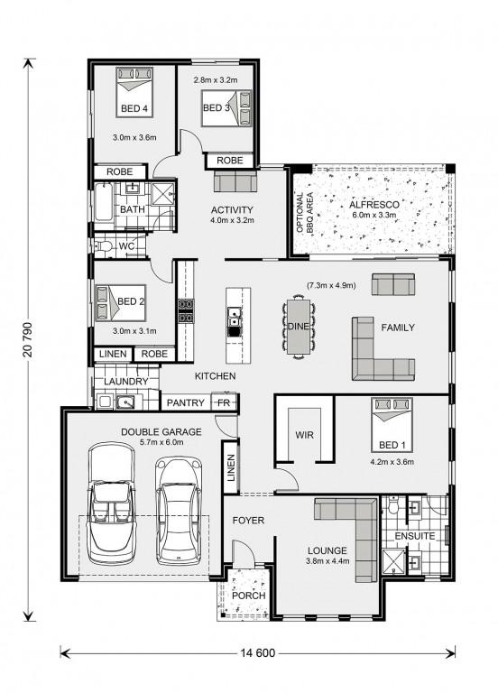 Vista 252 - Element Series Floorplan
