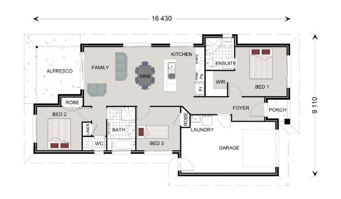 Stonehaven 130 Floorplan