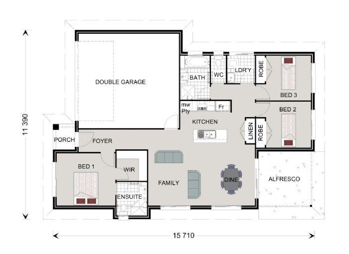 Nova 157 Floorplan