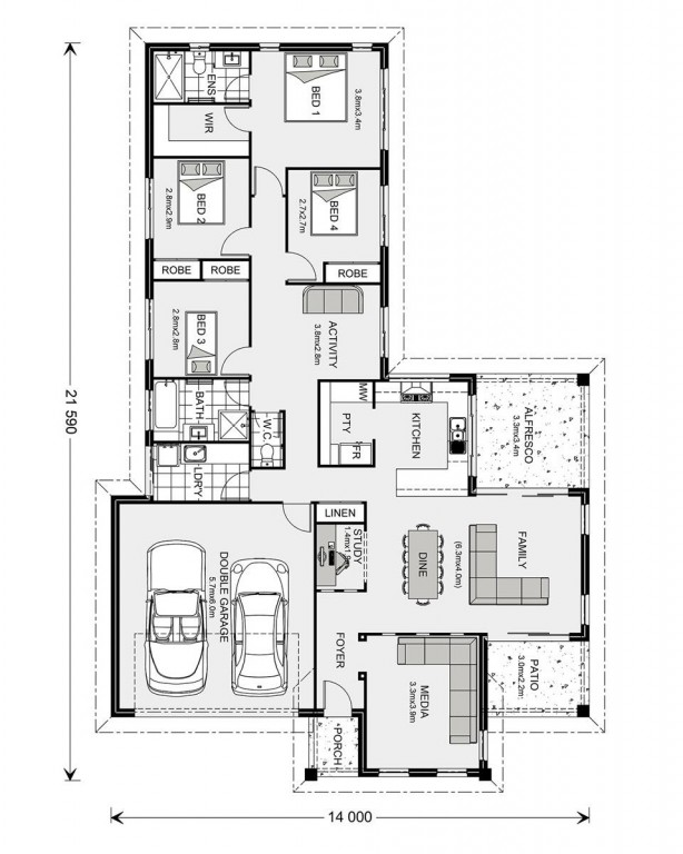 Parkview 215 - Element Series Floorplan