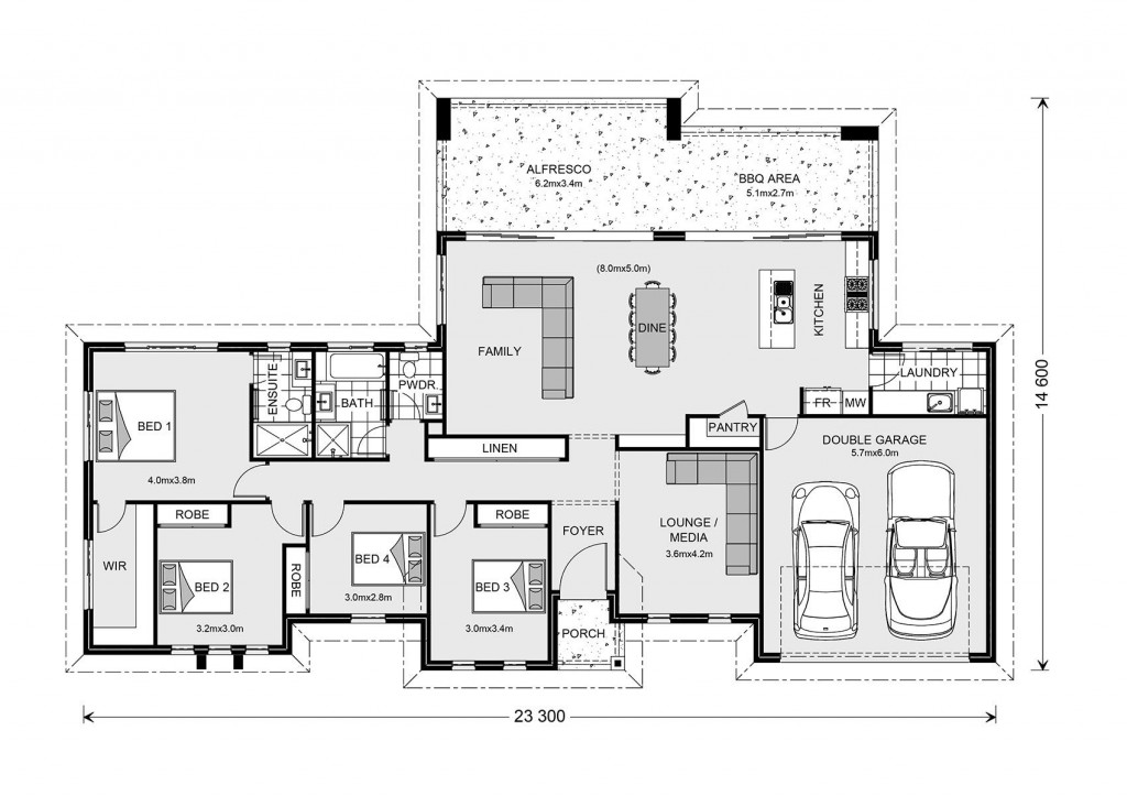 Stillwater 250 - Estate Series Floorplan