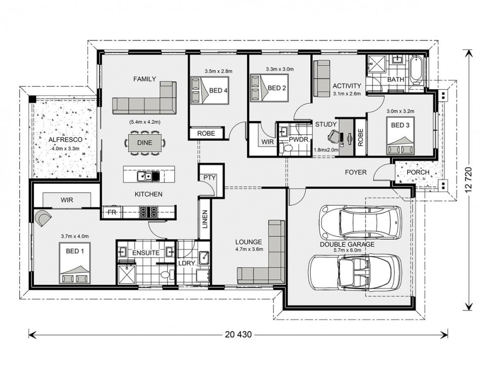 Forest Park 228 Floorplan