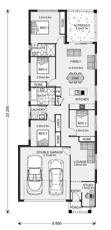 Newhaven Floorplan