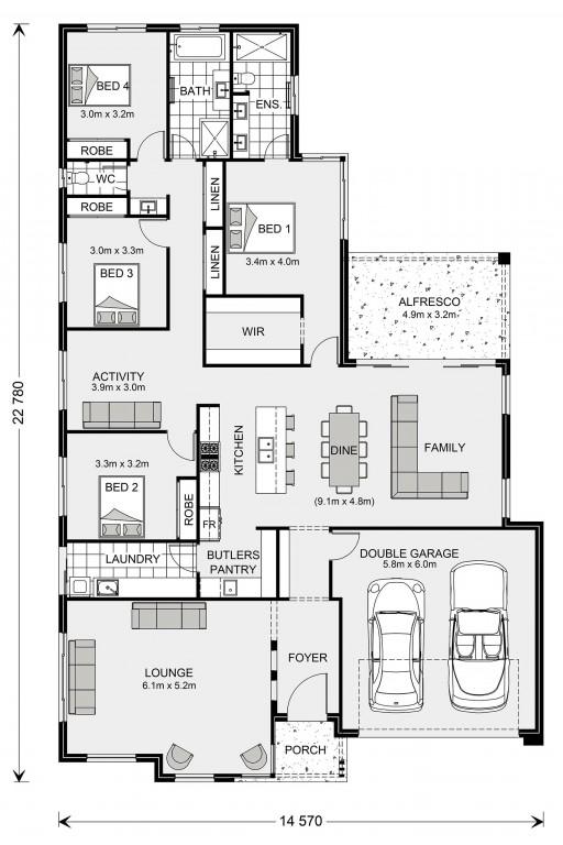 Elanora 268 Floorplan