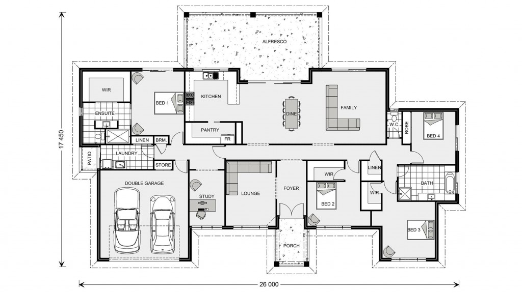Caspian 347 Floorplan