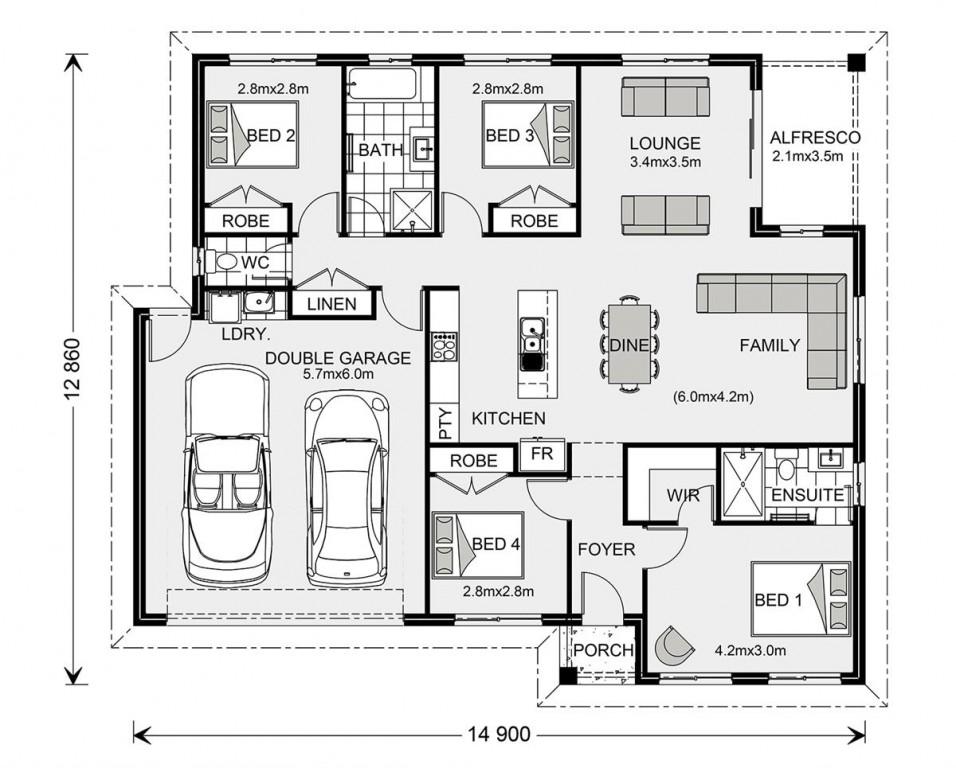 Brighton 195 - Estate Series Floorplan