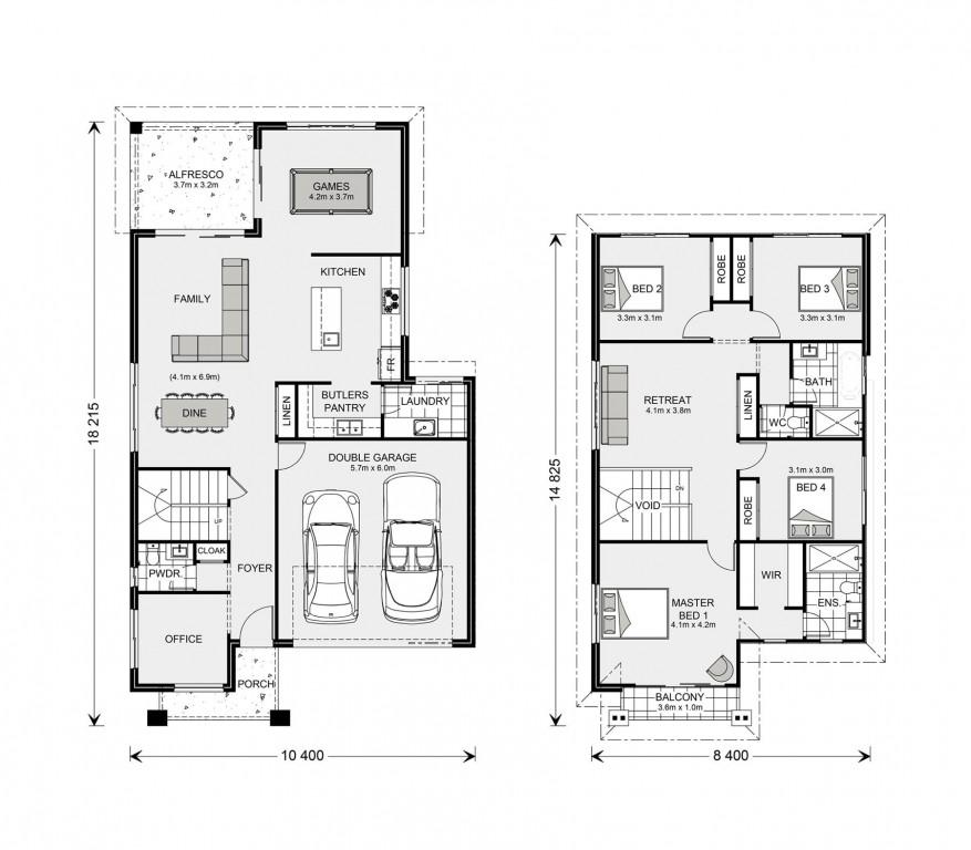 Balmain 300 Floorplan