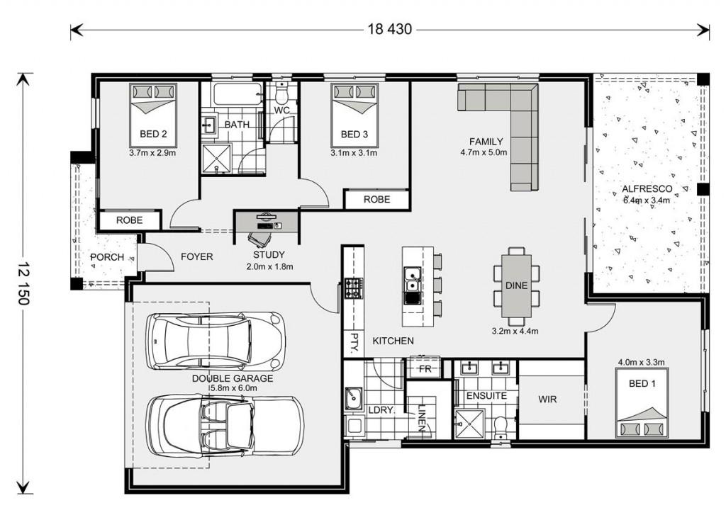 Casuarina NQ 200 - Element Series Floorplan