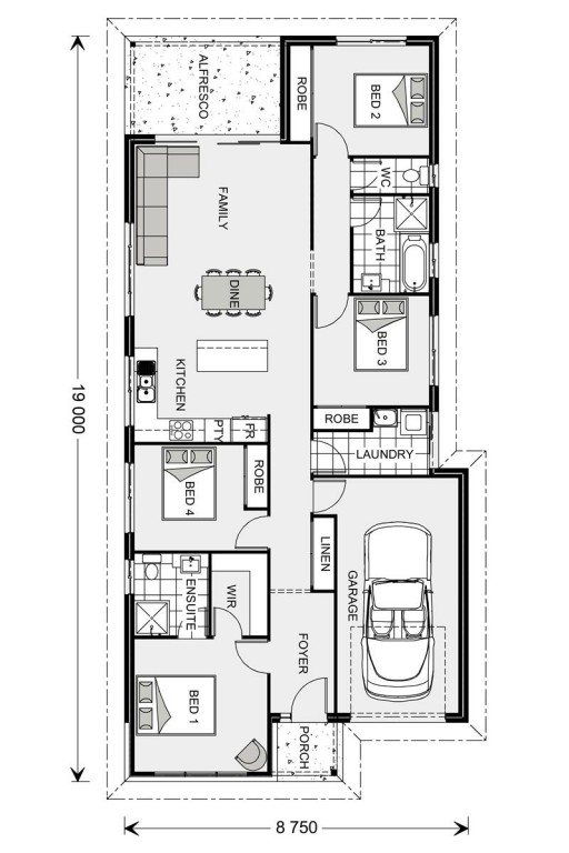 Calderwood 160 - Element Series Floorplan