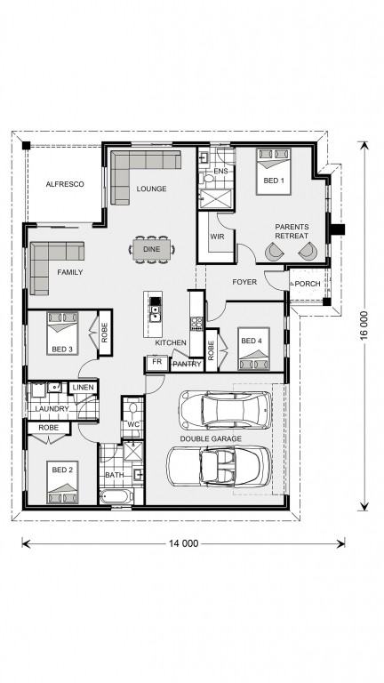 Brighton Floorplan