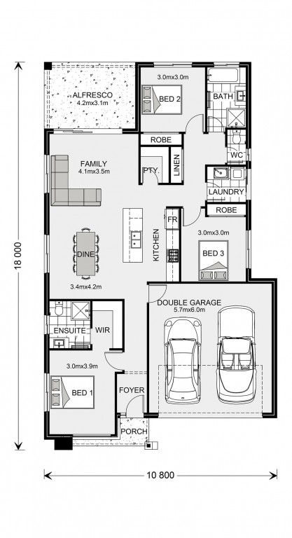 Bridgewater 173 - Express Series Floorplan