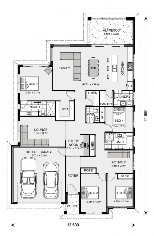 Newport 247 - Element Series Floorplan