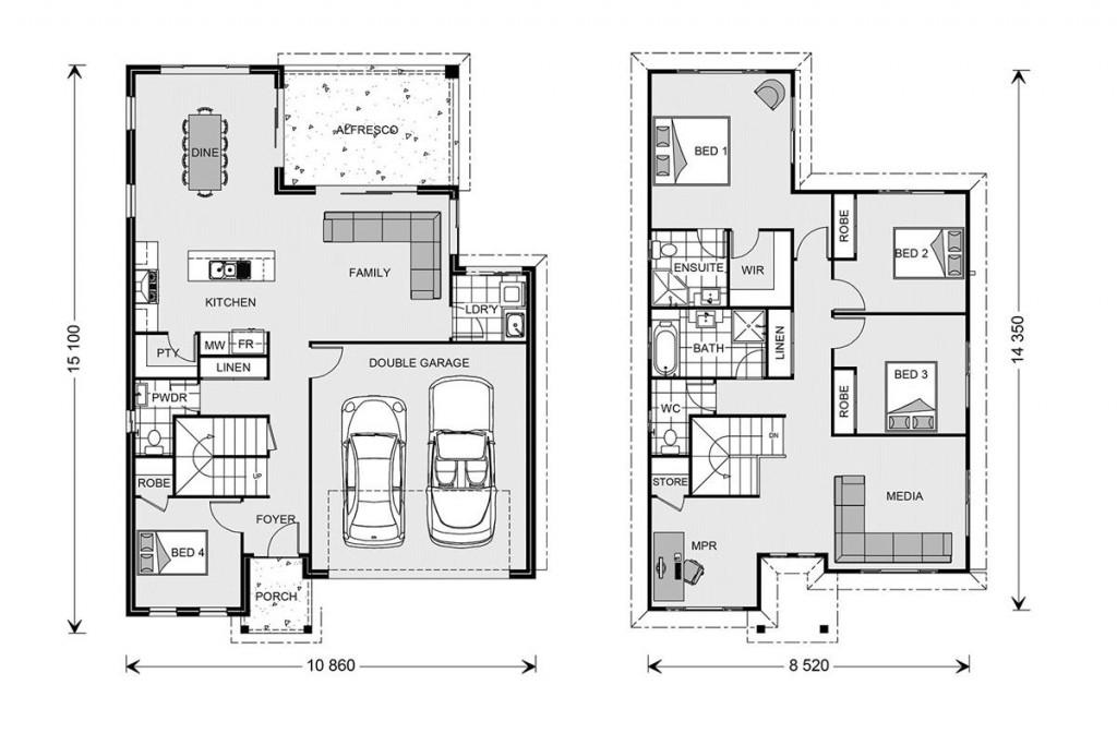 Twin Waters 244 Floorplan