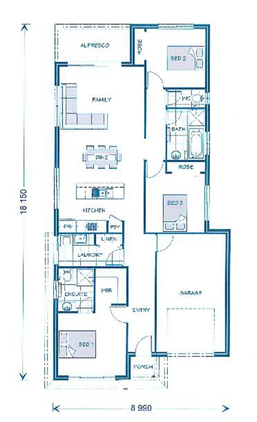 Amandari 137 - Express Series Floorplan