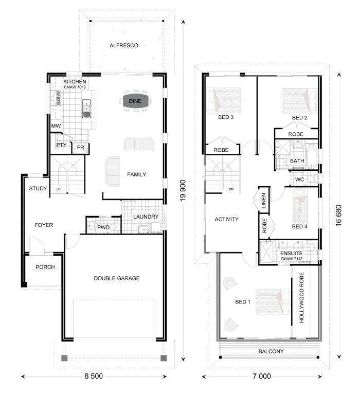 Jindalee 242 Floorplan