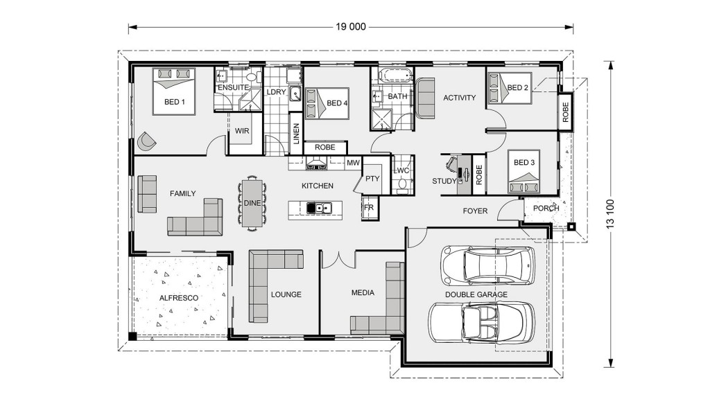 Iluka 230 - Express Series Floorplan