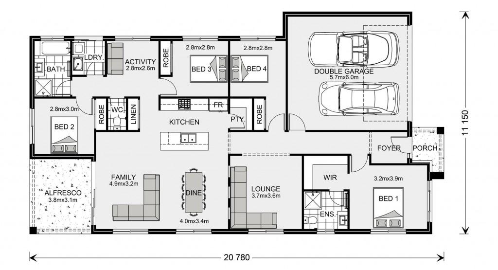 Bridgewater 205 - Express Series Floorplan