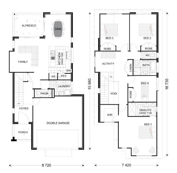 Ascot 225 Floorplan