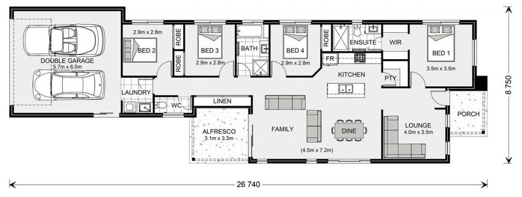 Greenhill Rear Lane Floorplan