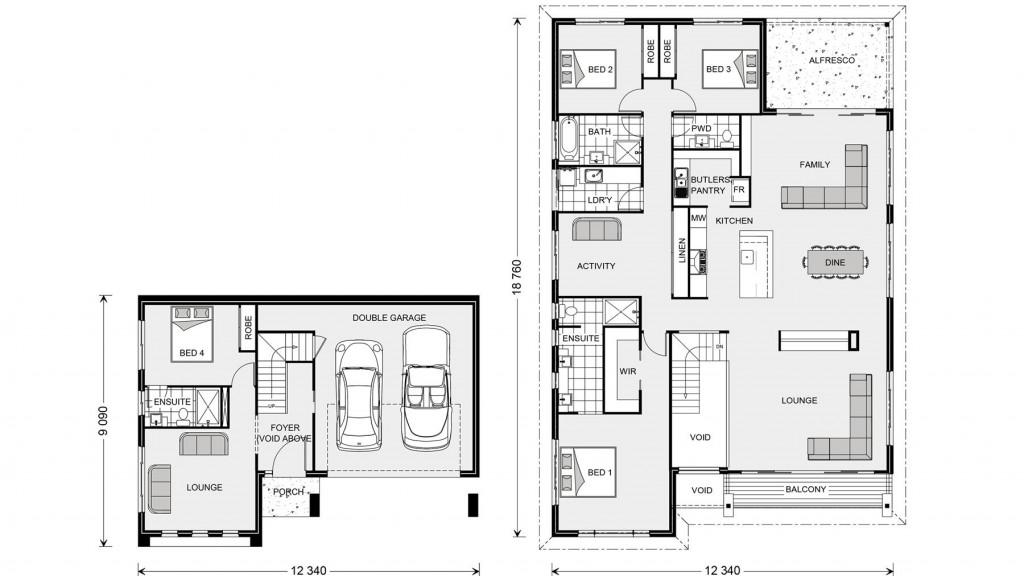 Stamford 317 SL Floorplan