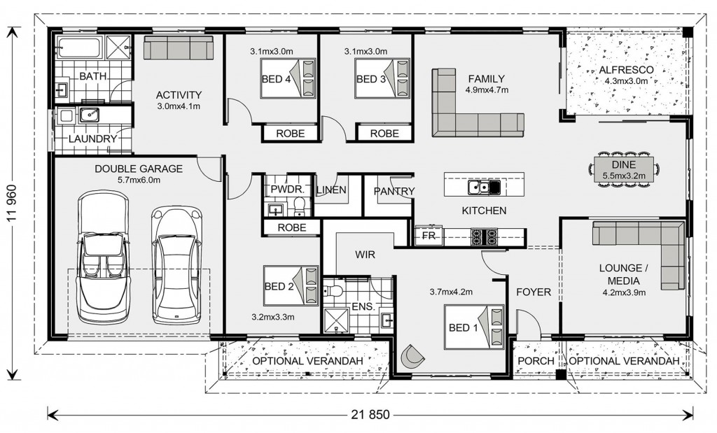 Balmoral - Homestead Series Floorplan