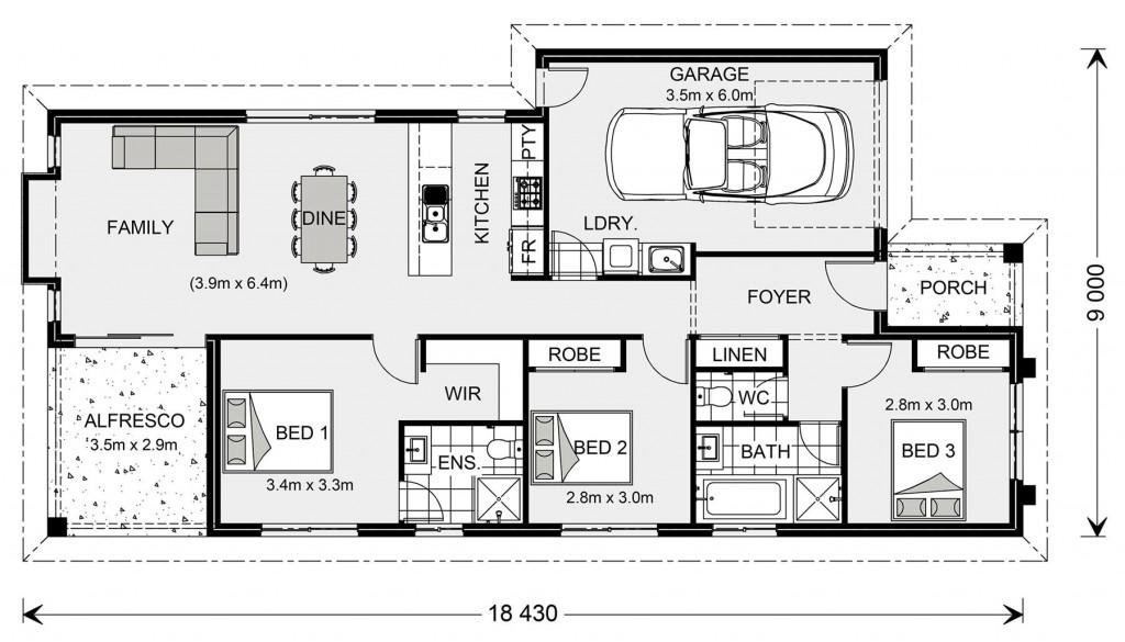 Armadale 142 - Metro Small Floorplan