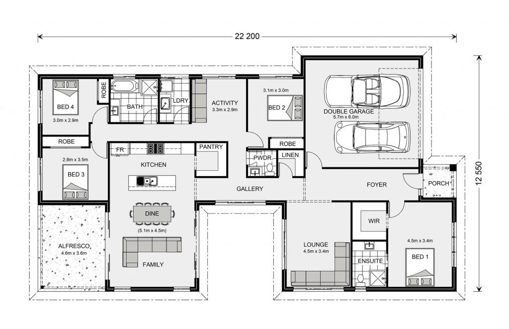 Beachmere 235 Floorplan