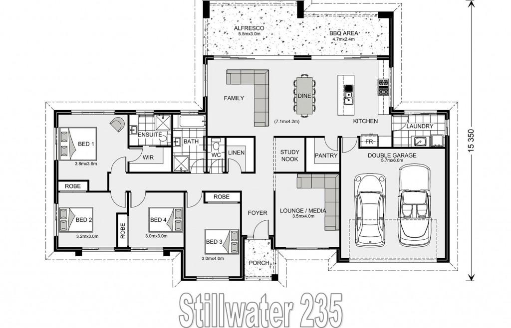 Stillwater Estate 235 - Element Series Floorplan