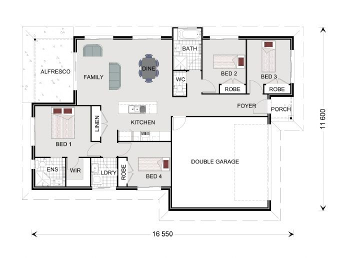 Parkside 169 - Express Series Floorplan