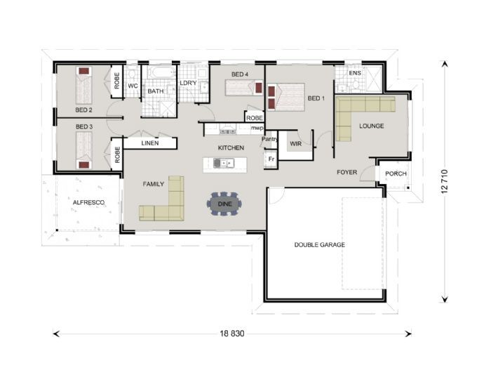 Woodridge 194 - Express Series Floorplan