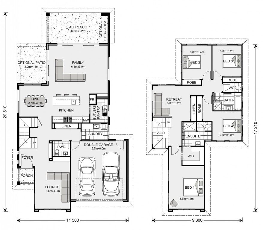 Avalon Bay 286 Floorplan