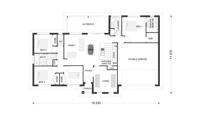 Bridgewater 179 Floorplan