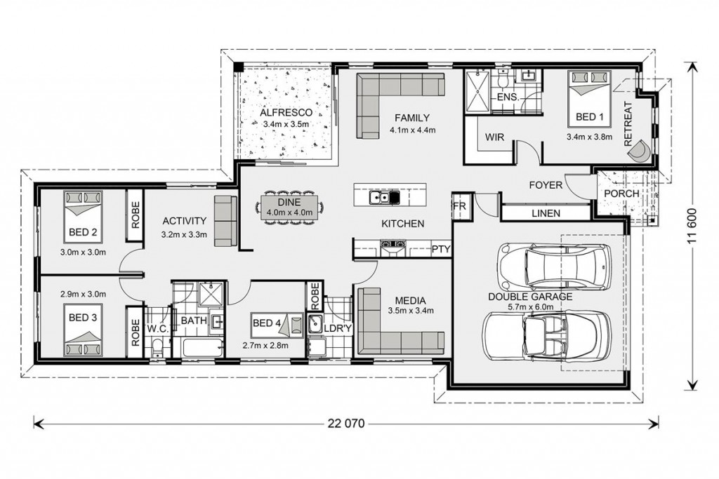 Coolum 206 - Element Series Floorplan