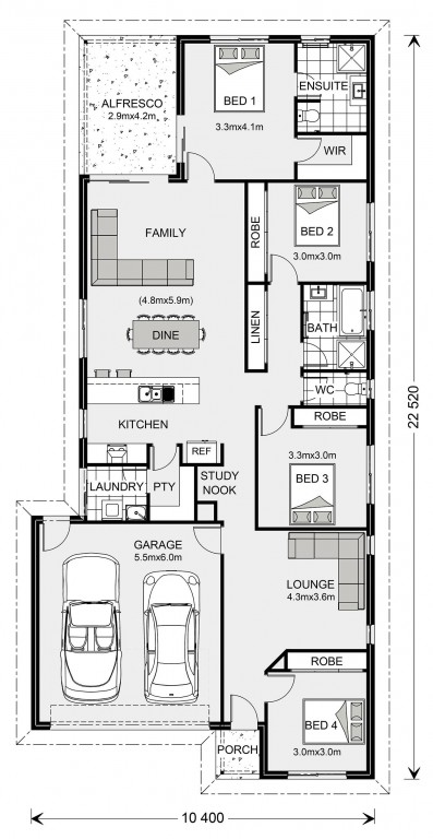 Westerfolds - Express Series Floorplan