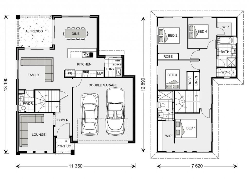 Blue Water 211 - Element Series Floorplan