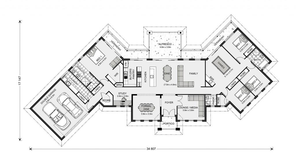 Montville 325 - Prestige Series Floorplan