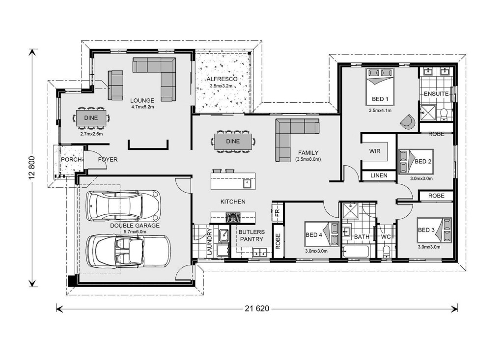 Northside 229 - Element Series Floorplan