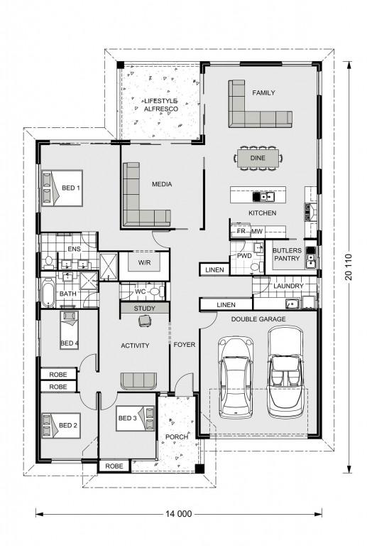 Hawkesbury 255 - Element Series Floorplan