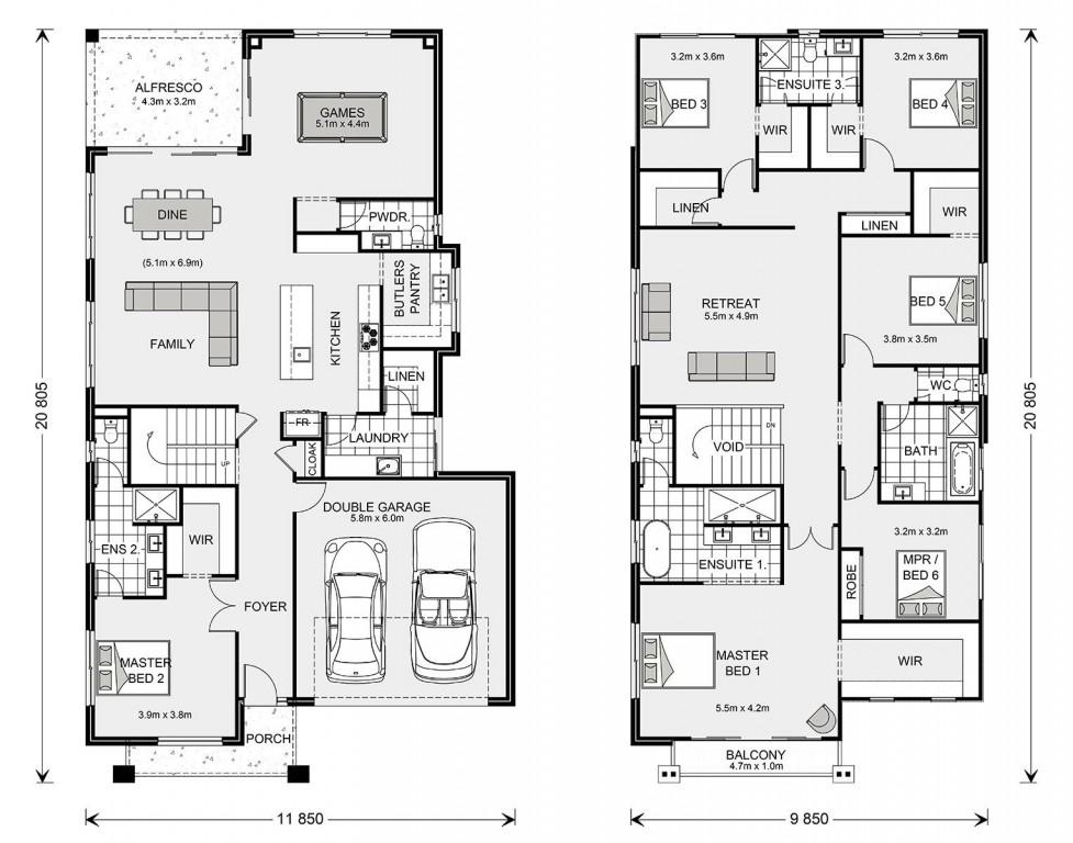Balmain 400 - Element Series Floorplan