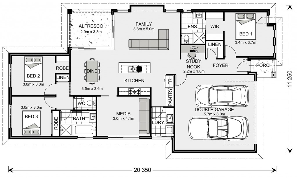Coolum 187 - Metro Small Floorplan
