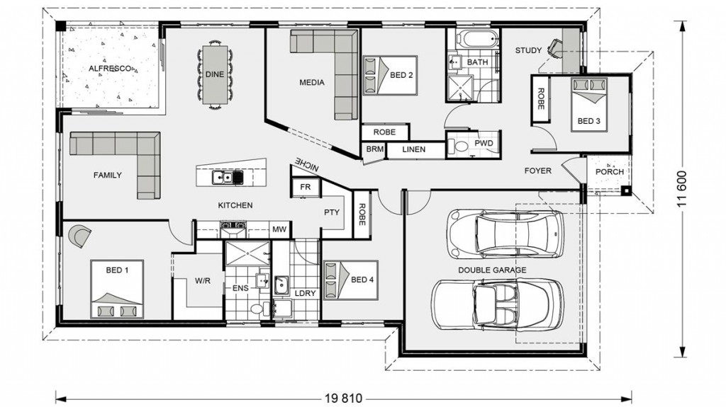 Beachlands 206 Floorplan