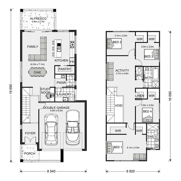 Ascot 250 - Express Series Floorplan