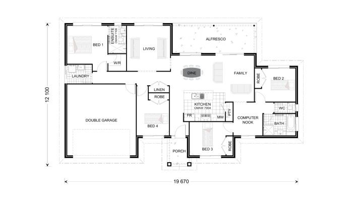 Bridgewater 200 Floorplan