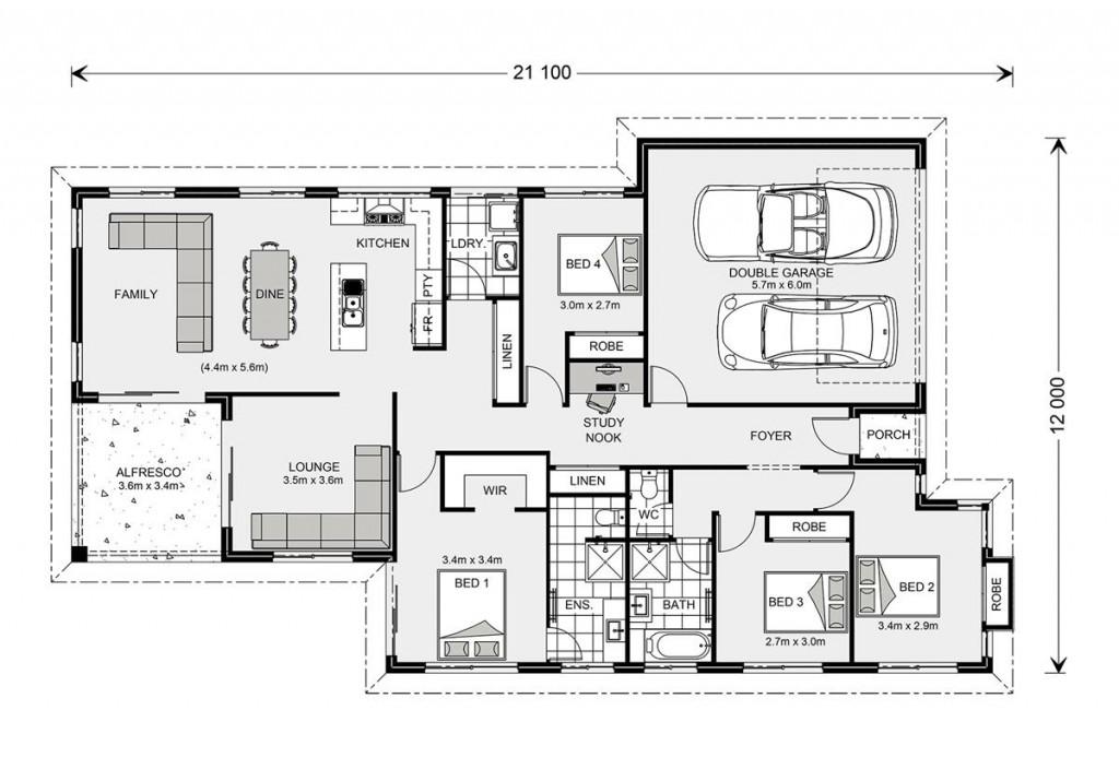 Hawkesbury 210 - Element Series Floorplan