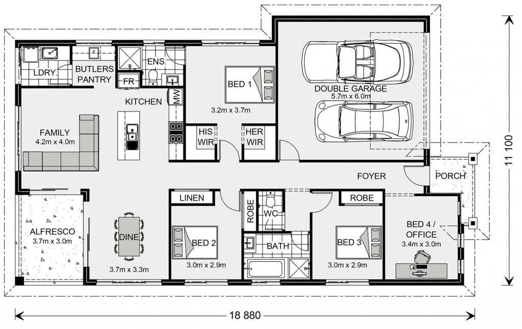 Casuarina 187 - Metro Series Floorplan