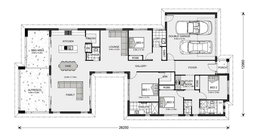 Stillwater 264 - Element Series Floorplan